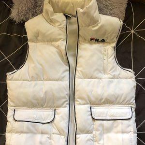 FILA Puffer Vest Jacket